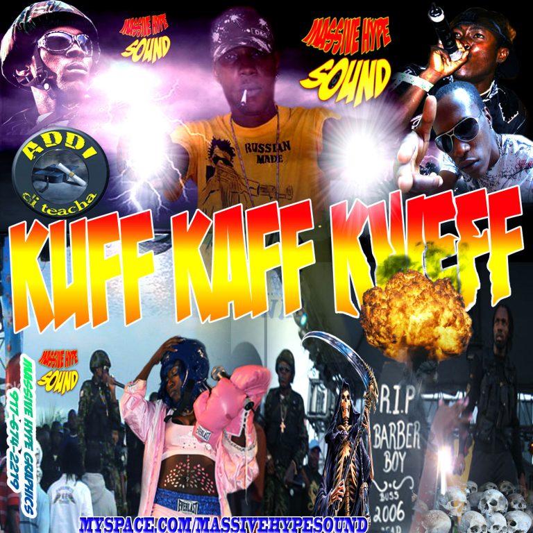 Kuff Kaff Kweff mix cd main cover