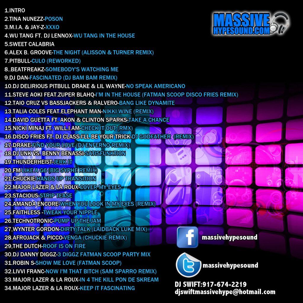 Mash Blend Mix 2 (Back Cover)