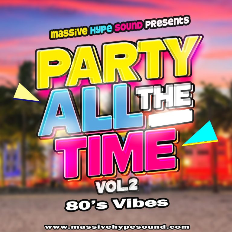 Party All The Time Vol.2_Front cover