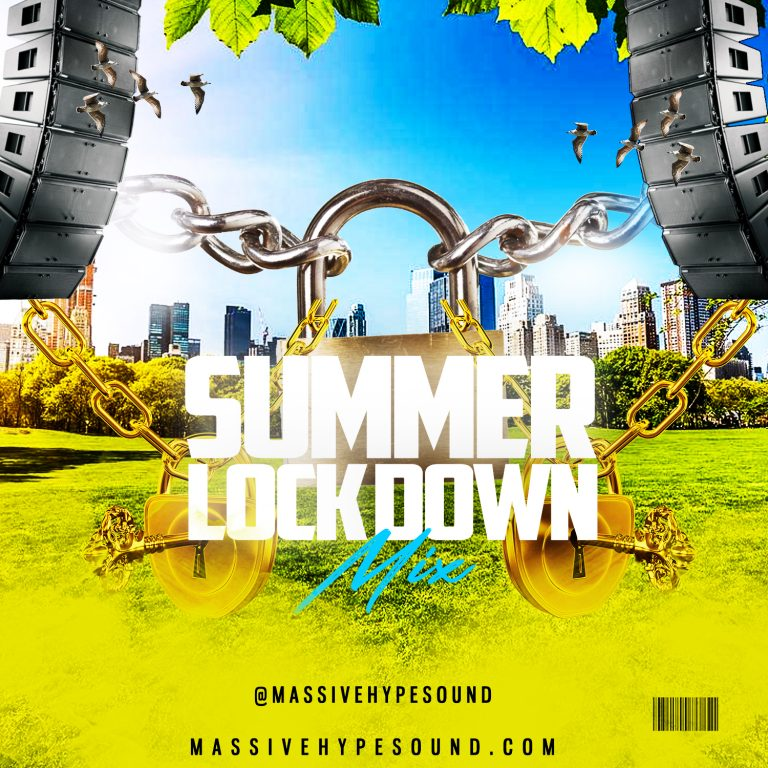 summer lock down mixtape_Front cover